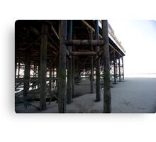 Blackpool pier Canvas Print