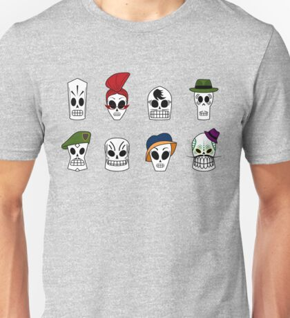 Grim Fandango Skulls Unisex T-Shirt
