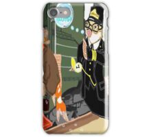 Railroad Conductor And His Passengers iPhone Case/Skin