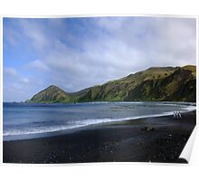Sandy Bay, Macquarie Island Poster