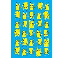Silly electric pokemon Pikachu Photographic Print