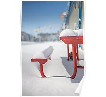 Snows Of New York Poster