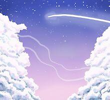 A quick night sky by Lauren Stewart