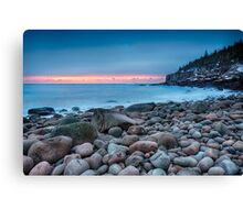 Land Of Sunrise Canvas Print