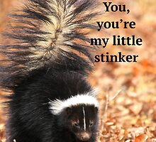 Granny Loves You, you're my little stinker! by NatureGreeting Cards ©ccwri