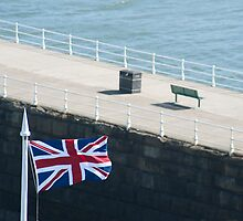 Union flag of the United Kingdom by photoeverywhere