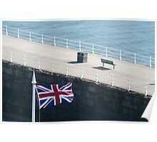 Union flag of the United Kingdom Poster