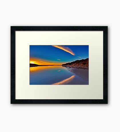 """Impossible Dawn"" Framed Print"