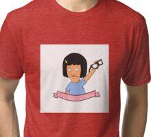 Let's raise our glasses Tri-blend T-Shirt