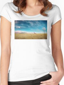 Breaking Bad- RV scenery  Women's Fitted Scoop T-Shirt