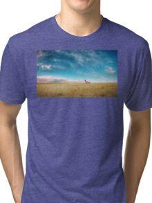 Breaking Bad- RV scenery  Tri-blend T-Shirt