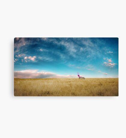 Breaking Bad- RV scenery  Canvas Print