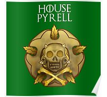 """""""House Pyrell"""" - Disney Meets Game of Thrones Poster"""