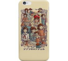 Ghibli's Angels iPhone Case/Skin