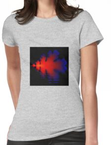 Fire and Water Womens Fitted T-Shirt