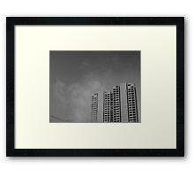 Snapshot Houston Framed Print
