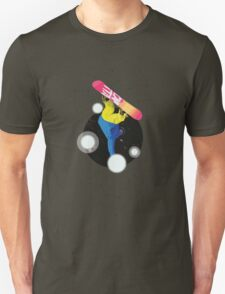 Snowboard in the Cosmos T-Shirt