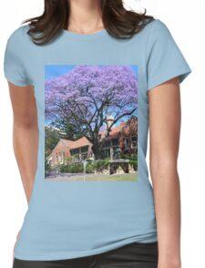 Jacaranda tree, Australia Womens Fitted T-Shirt