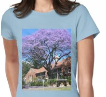 Jacaranda tree, Australia Womens Fitted T-Shirt