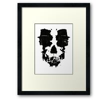 Skull of Jekyll/Hyde Framed Print