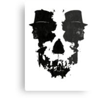 Skull of Jekyll/Hyde Metal Print