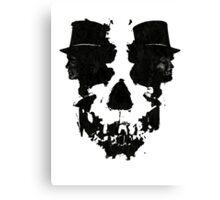 Skull of Jekyll/Hyde Canvas Print