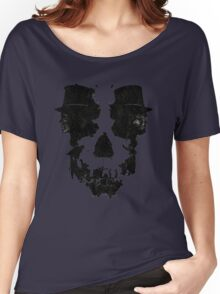 Skull of Jekyll/Hyde Women's Relaxed Fit T-Shirt