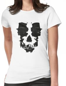 Skull of Jekyll/Hyde Womens Fitted T-Shirt