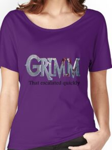 GRIMM in 3 Words Women's Relaxed Fit T-Shirt