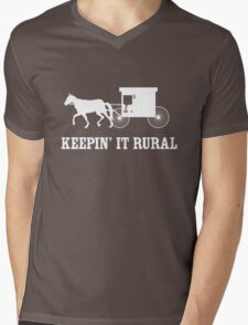 Keepin it Rural Mens V-Neck T-Shirt