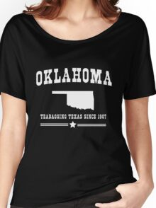 Oklahoma. Teabagging Texas Women's Relaxed Fit T-Shirt