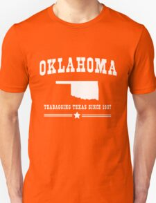 Oklahoma. Teabagging Texas T-Shirt