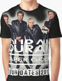Duran Duran Band Paper Gods Tour Graphic T-Shirt