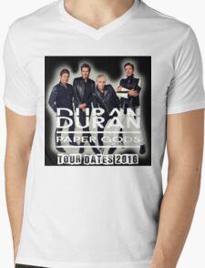 Duran Duran Band Paper Gods Tour Mens V-Neck T-Shirt
