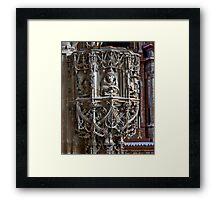 Stone Carved Pulpit Framed Print