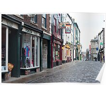Church Street in Whitby Poster