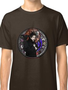 Tim Burton Stained Glass Classic T-Shirt