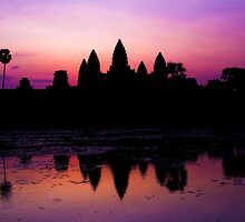 Sunrise at Angkor Wat by KerryPurnell
