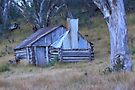 Guys hut Howitt plains by Donovan Wilson