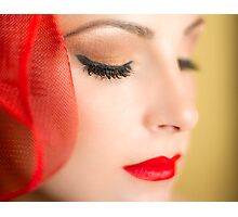 Dreaming In Red Photographic Print