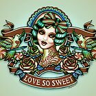 Sweet by Leighderhosen Art