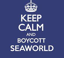 KEEP CALM BOYCOTT SEAWORLD Unisex T-Shirt
