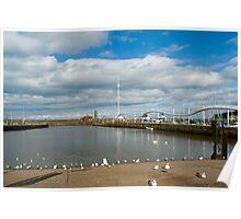 Whitehaven harbour marina Poster