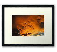 Fireburst  Framed Print