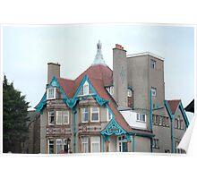 Whitelow House. Morecambe Poster