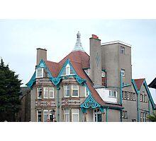 Whitelow House. Morecambe Photographic Print