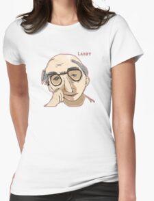 Larry David Shirt Womens Fitted T-Shirt