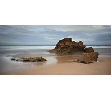 Montforts Beach Photographic Print