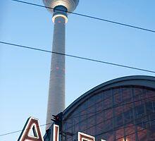 Alexanderplatz sign by photoeverywhere