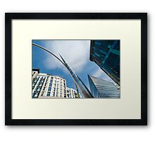Alliance Sculpture, Cardiff, Wales Framed Print